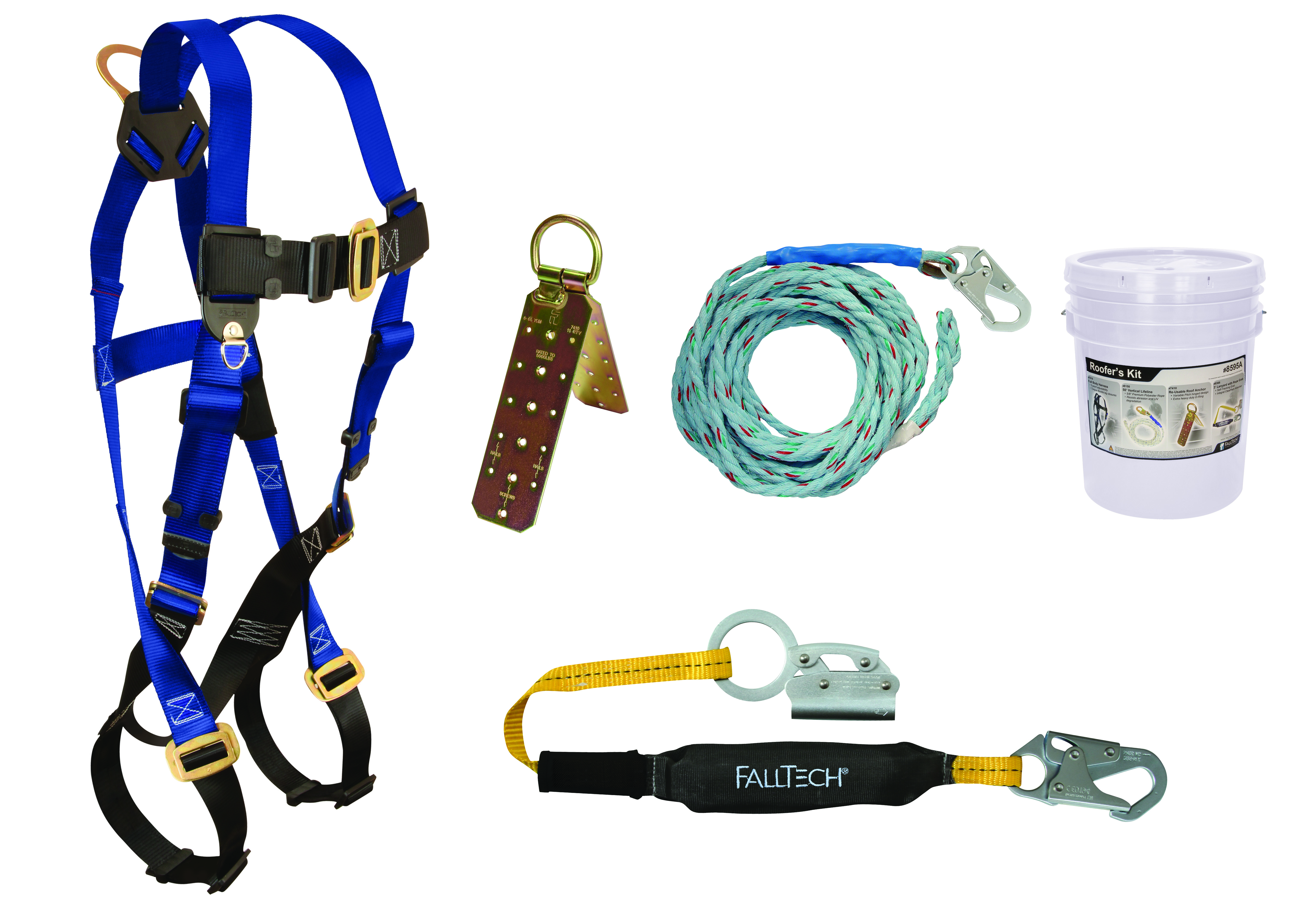 Roof Harness Kit Amp Rooftop Safe Tie Bucket Kit Sc 1 St The